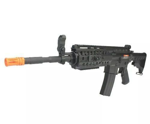 Rifle De Airsoft Cyma M4a1 Ris Cm508 Elétrico Bivolt 6mm