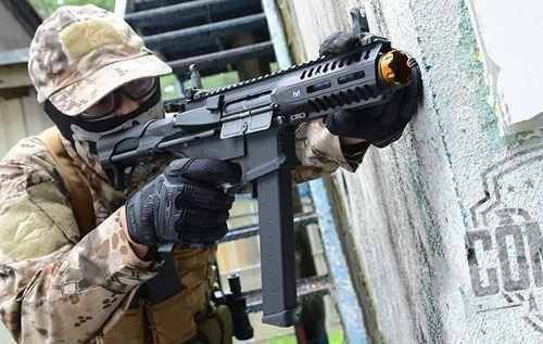 Rifle Airsoft G&g Cm16 Arp9 - 6mm Lipo E Mosfet Incluso