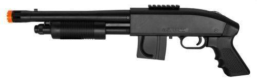 Kit Pistola + Carabina Airsoft Shotgun Mossberg M590 - 6mm