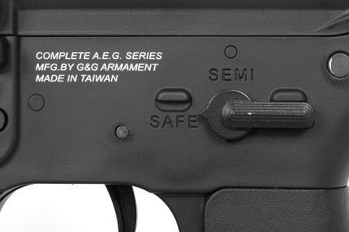 Rifle Airsoft Eletrica G&g Gr4 100y Blowback Aeg Gr 4