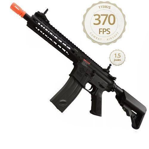 Rifle Airsoft AEG Elétrico Cm15 KR CQB 8,5p M4 - G&G - 6mm