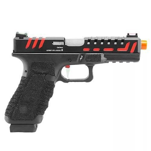 Pistola Airsoft Gás Gbb Co2 Scorpion 6mm - Aps Conception