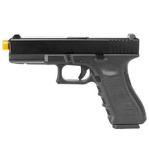 Pistola Airsoft Glock Army R17 Black - Gbb - Slide Metal 6mm