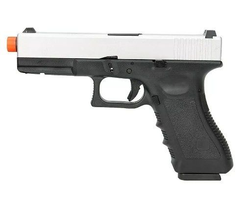 Pistola Airsoft Gbb Glock R17 S Blowback Army Armament 6,0mm
