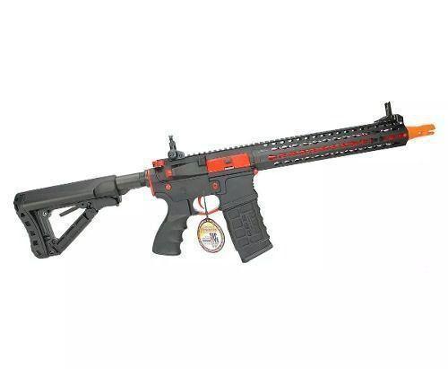 Rifle Airsoft CM16 SRXL Elétrico Mosfet - G&G - Cal 6mm