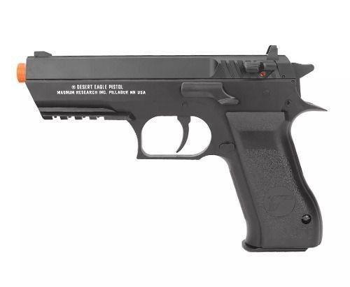 Pistola De Airsoft Gas Co2 Desert Eagle Baby Cal 6mm