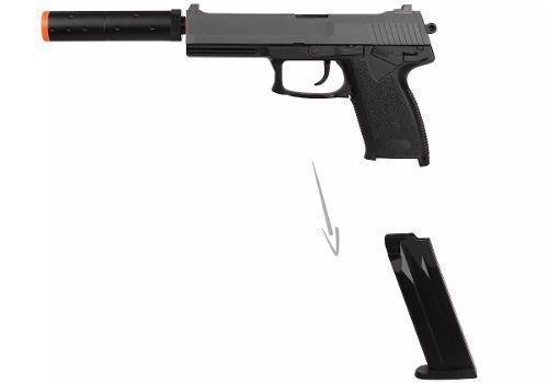 Pistola Airsoft Spring Hk Usp M23