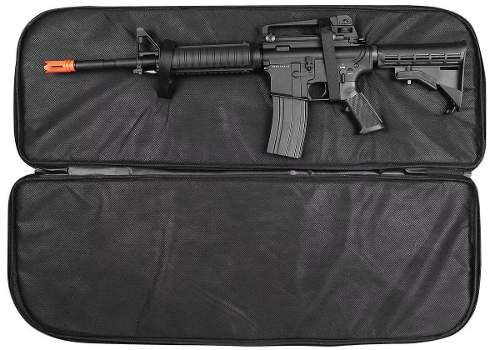Case Capa Transporte Rifle Airsoft 90x30 Combat Hunting
