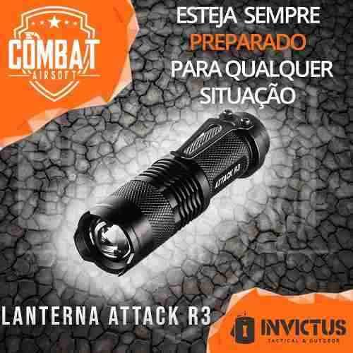 Lanterna Invictus Attack R3 Tatica