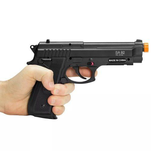 Pistola Airgun À Gás Co2 GNB PT92 Full Metal