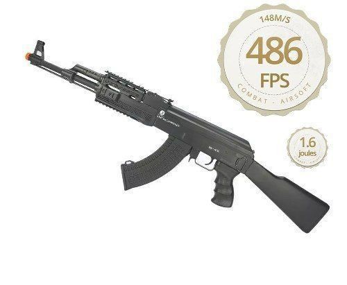 Rifle Airsoft Ak 47 Tactical Fsv Full - Cal 6,0mm Cybergun