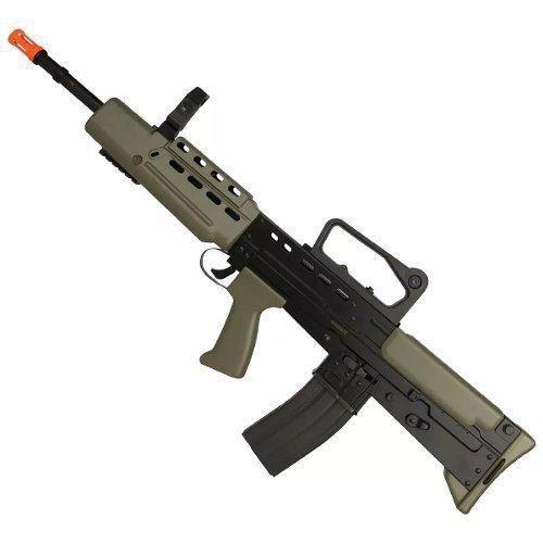 Rifle Fuzil Airsoft L85a1 Spring Vigor Tamanho Real