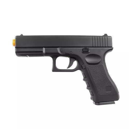 Pistola Airsoft Spring Vigor Glock Gk-v20 Full Metal - 6mm - Preto