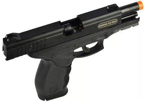 Pistola Airsoft Spring PT24/7 KWC 6mm *RETIRADA DE PEÇAS*
