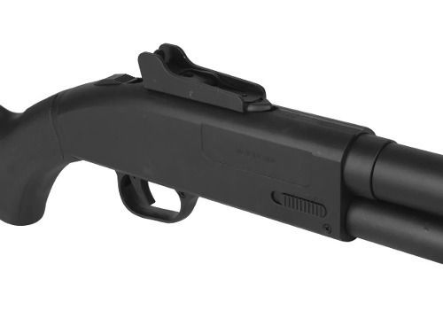 Kit Shotgun Spring Airsoft Rifle Cyma ZM61A + Pistola Airsoft Taurus PT24/7 + 4000 BBs