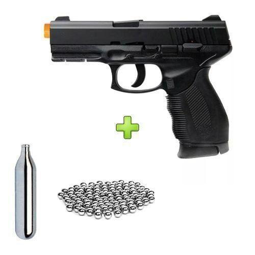 Pistola de Pressão CO2 Taurus PT24/7 KWC 4,5mm