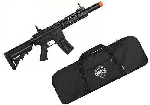 Rifle Elétrico Bivolt Airsoft Cyma M4a1 Cm513 Black + Capa