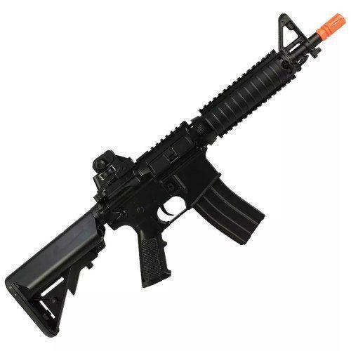 Rifle de Airsoft Elétrico AEG M4A1 CQB CYMA CM176 Bivolt 300fps 6mm