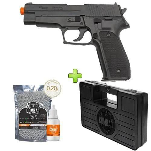 Pistola Airsoft Sig Sauer P226 Training + Case + Bbs + Óleo