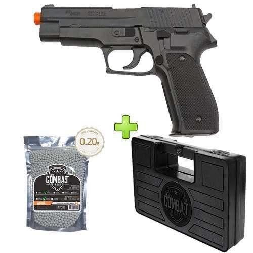 Pistola Airsoft Sig Sauer P226 Training Series + Case + Bbs