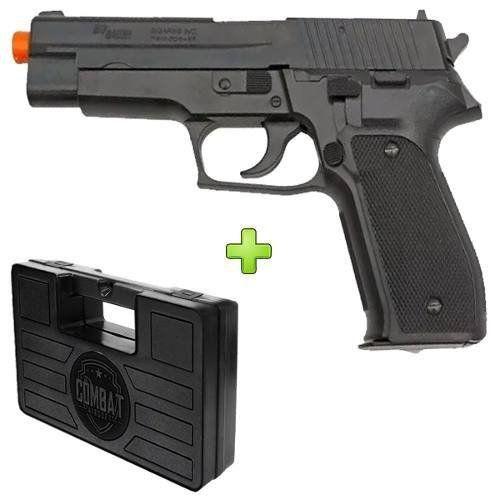 Pistola Airsoft Sig Sauer P226 Training Series Spring + Case