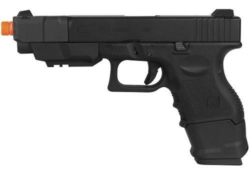 Pistola Airsoft Gbb We Glock G33a Gen3 Semi-metal