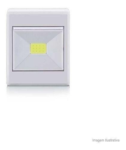 Mini Luminária Button Led 3w Tubular Elgin Elgin