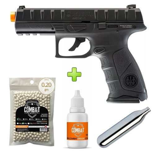 Pistola Airsoft Co2 Umarex Beretta Apx Blowback Cal.6,0mm