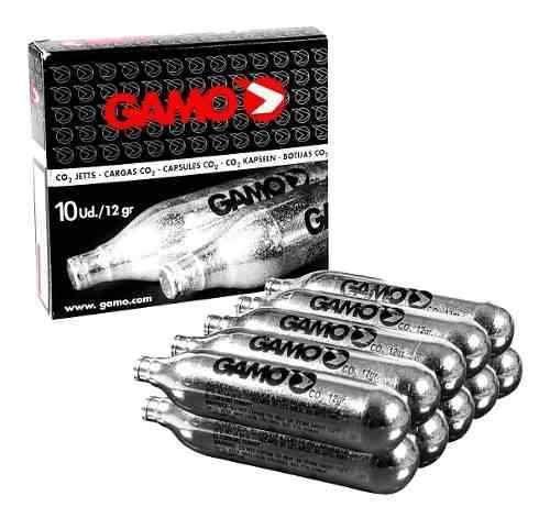 Kit 10 Cilindros Co2 Gamo High Grade Muito Barato Promoção