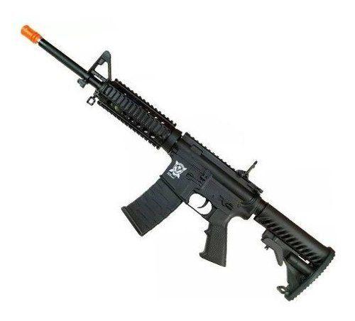 Rifle Airsoft Aeg M4a1 Aps Kompetitor Ris Blowback Pr302b