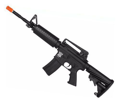 Airsoft Elétrico Rifle Aps M4a1 Kompetitor Blowback Pr301b