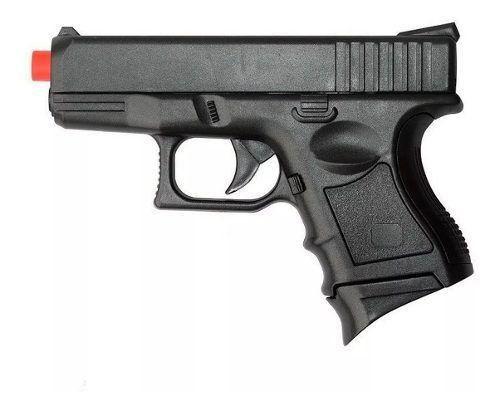 Pistola De Airsoft Spring P698 Glock Baby 6mm - CYMA