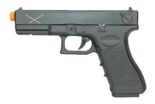 Pistola De Airsoft Glock G18 Delta Tactics Elétrica Skyway Yakuza 6mm