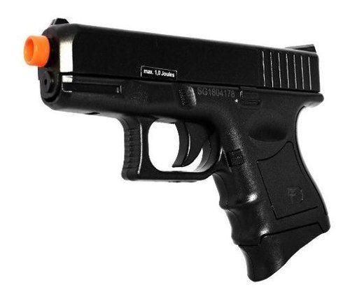 Pistola De Airsoft Spring Saigo 27 Black
