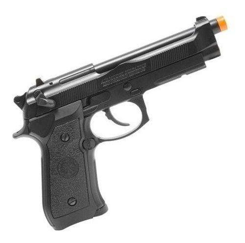 Pistola De Airsoft Gbb Green Gas M92 Hg-190 6mm + Maleta