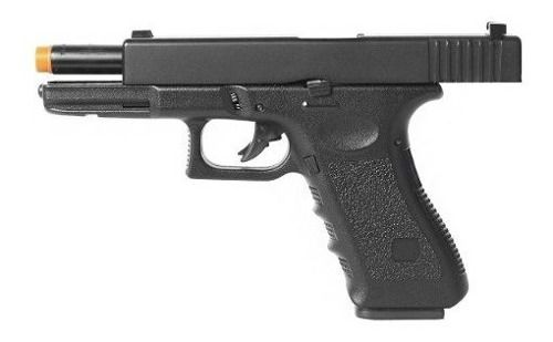 Pistola De Airsoft Gbb G18 Green Gas Hg-185 6mm + Maleta