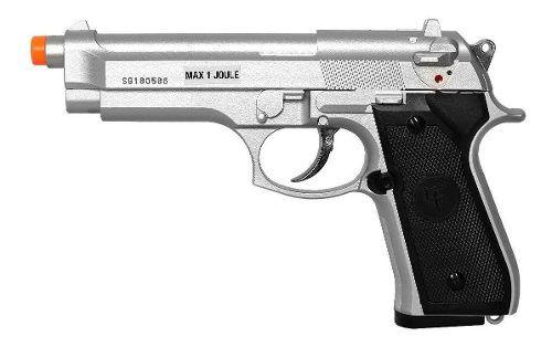 Pistola De Airsoft Green Gas Saigo Skyway Beretta 92