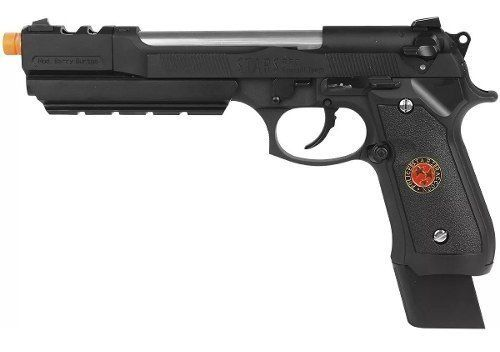 Pistola Airsoft Gbb We M92 Biohazard Barry Burton Blackmetal