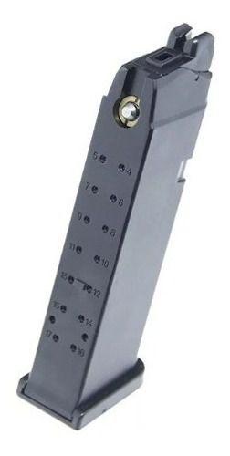 Magazine Pistola Airsoft Gbb Glock R17 - G17- G18 - Army