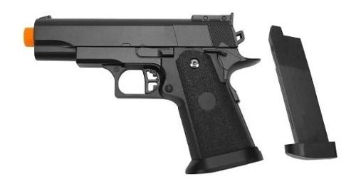 Pistola Airsoft Galaxy G10 Spring 1911 Baby Slide Metal 6mm