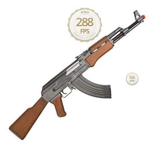 Rifle Airsoft Kalashnikov Ak47 Spring Cybergun 6mm Mostruário