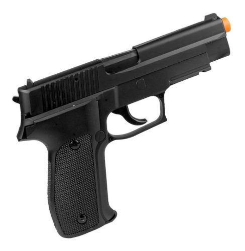 Airsoft Green Gás Pistola P226 6mm 300fps Saigo Defense
