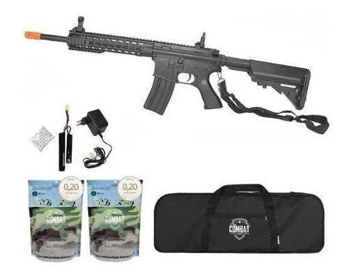 Rifle Airsoft M4a1 Ris Black 6.0 Cm515 Cyma + Bbs + Capa