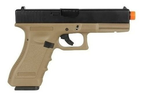 Pistola De Airsoft A Gas Gbb Green Gas R18 Army Tan Blowback