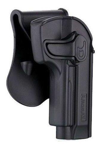 Coldre Amomax Polímero Beretta P92 M9 Cybergun Pt92 Pt99 Pt59