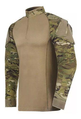 Camisa Tática Invictus Operator Multicam
