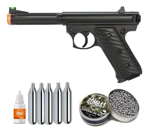 Pistola Pressão Kjw Mk2 400 Fps 4.5 Co2 16 Tiros Mostruário