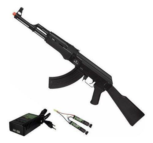 Rifle De Airsoft Elétrico Ak47 Victor Qgk Aeg Bivolt