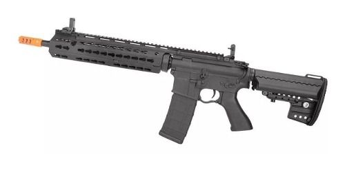 Rifle Airsoft Cyma M4 Long Keymod CM619 Bivolt 6.0mm Cyma