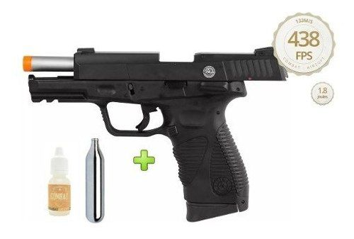 Pistola Airsoft CO2 Cybergun PT24/7 G2 Blowback Slide Metal 6mm *MOSTRUÁRIO*